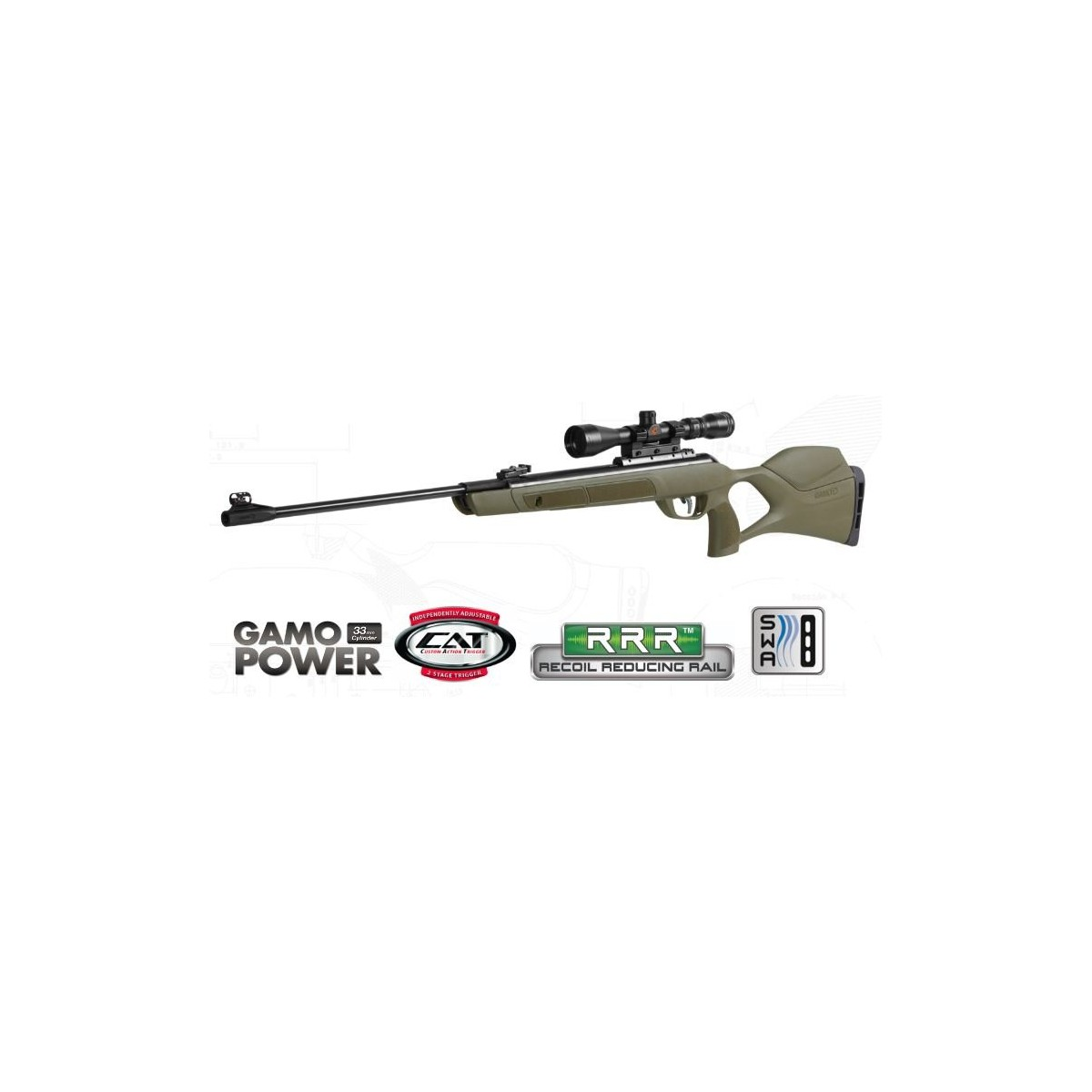 G-MAGNUM JUNGLE kal.4,5mm GAMO