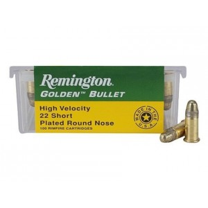 Remington 22SHORT HV Golden Bullet