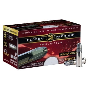 22LR Federal Premium- HUNTER MATCH