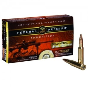 Federal 308Win. 168Grain  Gold Medal