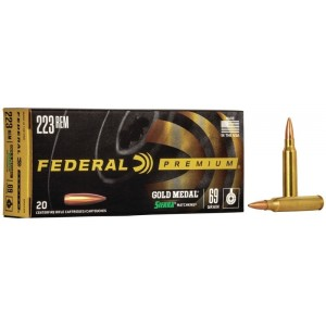 Federal GOLD MEDAL 223 Rem
