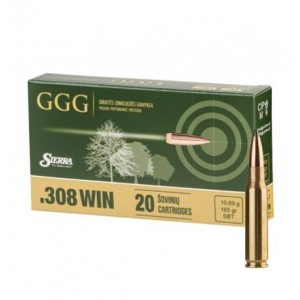 GGG .308Win. 165gr/10,69g SBT Sierra GameKing