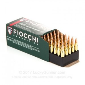 223 Remington FIOCCHI 62 grs