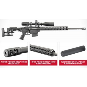 RUGER PRECISION RIFLE  cal.308Winch.